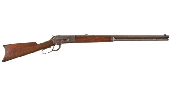 Browning Brothers Marked Winchester Model 1886 Rifle