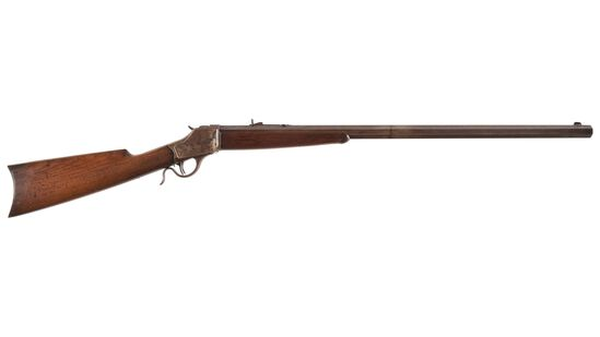 Antique Winchester Model 1885 High Wall Rifle