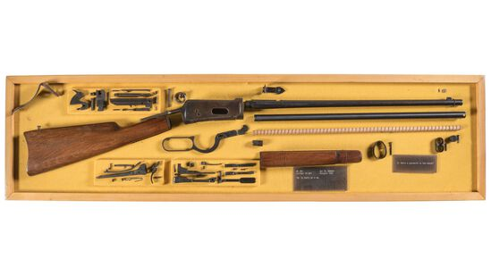 Winchester Model 1894 Carbine Parts Display