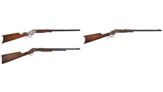 Three Stevens Rifles