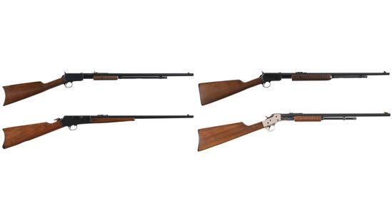 Four American Rimfire Rifles