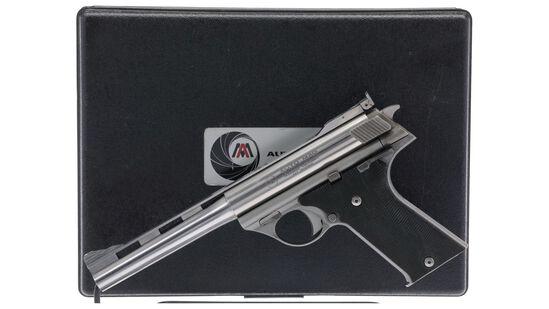 Auto Mag Model 180 Semi-Automatic Pistol with Case