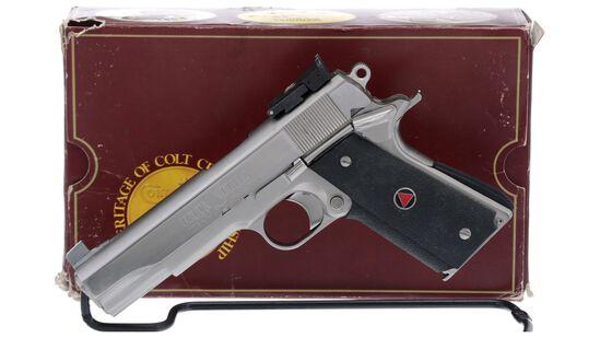 Colt Delta Elite Government Model Semi-Automatic Pistol with Box