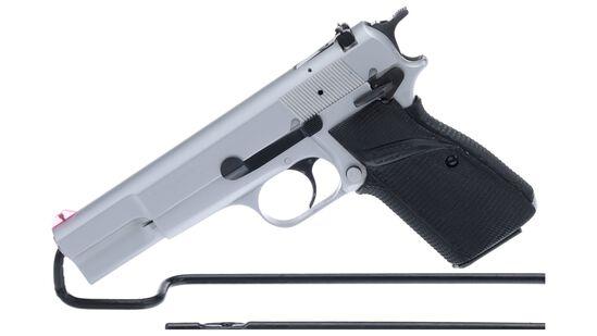 Belgian Browning High-Power Semi-Automatic Pistol