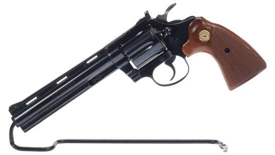 Colt Diamondback Double Action Revolver with Box