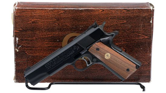 Colt MK IV Series 70 Gold Cup National Match Pistol with Box