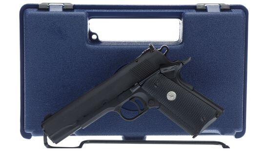 U.S. Military Academy Colt Combat Target Pistol with Case