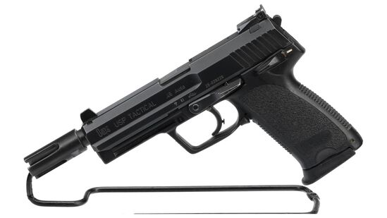 Heckler & Koch Model USP Tactical Semi-Automatic Pistol