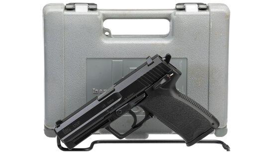 Heckler & Koch Model USP Semi-Automatic Pistol with Case