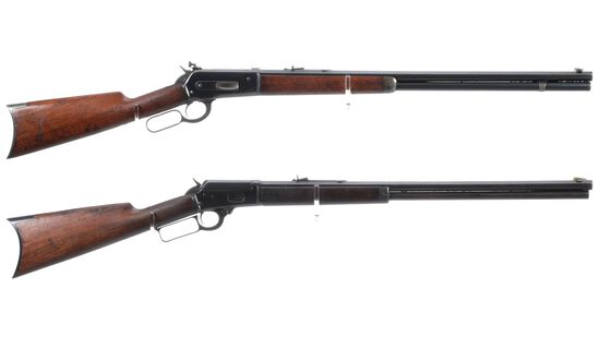 Two American Lever Action Rifles