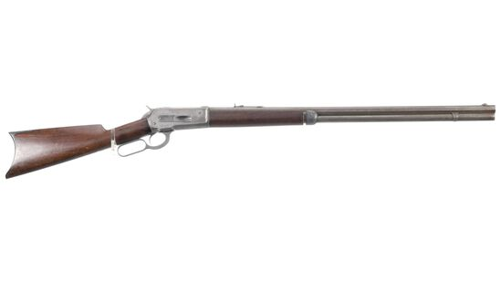 Winchester Model 1886 Lever Action Rifle in .45-90 W.C.F.