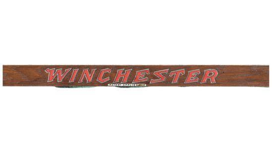 Glass Winchester Store Display Gun Cabinet