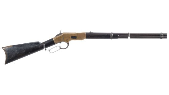 Winchester Flatside First Model 1866 Lever Action Carbine