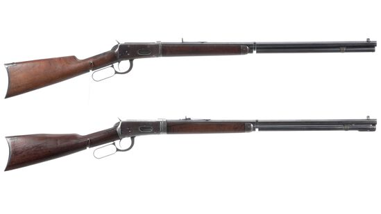 Two Winchester Model 1894 Lever Action Rifle