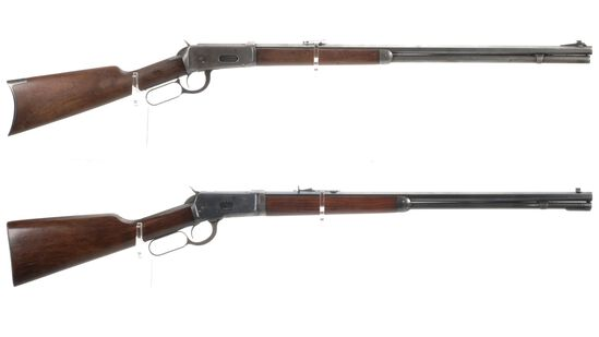 Two Winchester Lever Action Rifles