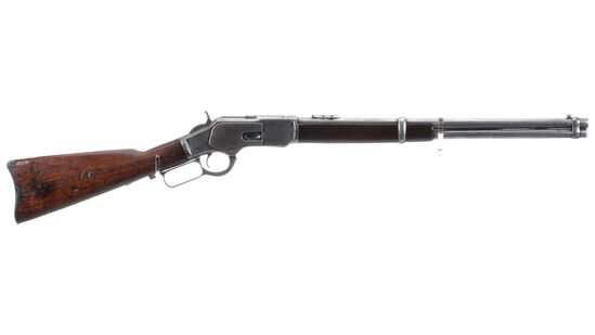 Winchester Model 1873 Lever Action Saddle Ring Carbine