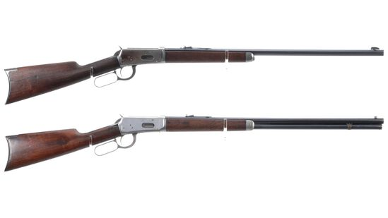 Two Winchester Model 1894 Lever Action Rifles
