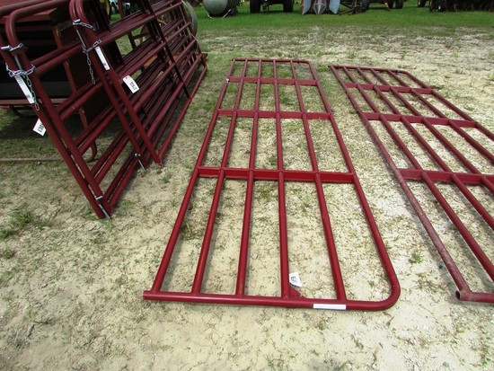16' RED PANEL GATE