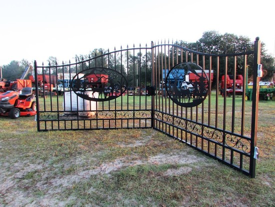 20' WROUGHT IRON ENTRY GATE