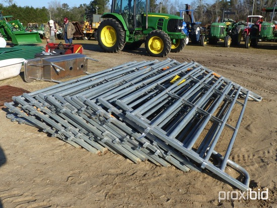 (18) HEAVY DUTY 12' SILVER PANELS