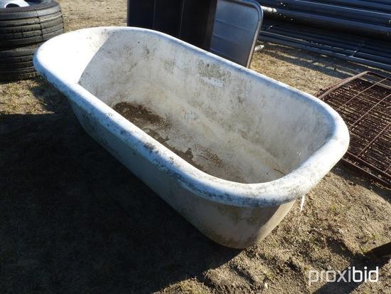 CAST IRON TUB W/ FEET