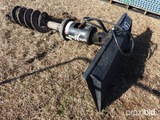 BOBCAT HYDRAULIC POST HOLE DIGGER **GOOD CONDITION**