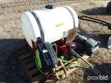 55 GALLON WATER SPRAYER W/ HONDA MOTOR