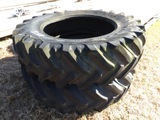 (2) TRACTOR TIRES 20.8R42