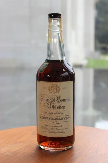 1952 Albert Blanton 55th Anniversary Bottle