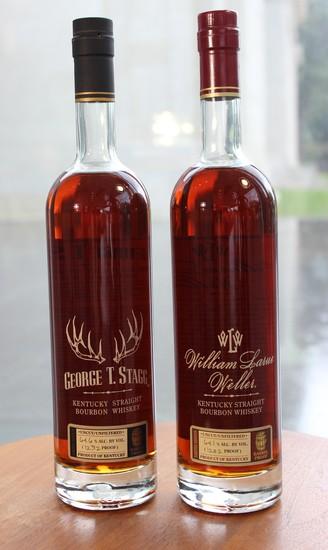 Weller Single Barrel Selection plus George T Stagg & William Larue Weller Bottles