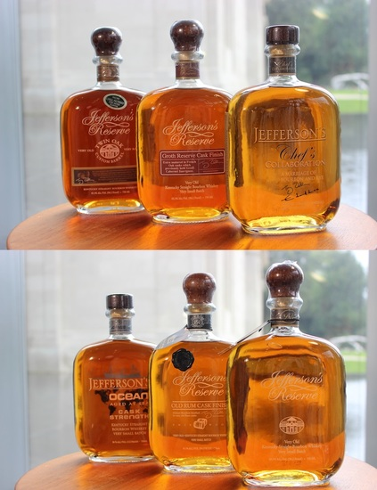 Jefferson's Reserve Collection – 8 Bottles