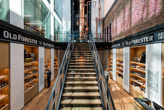 Old Forester Distillery Private tour and dinner for 8