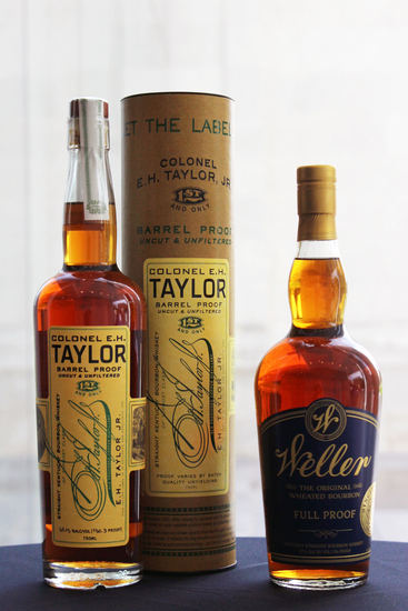 Colonel E.H. Taylor Barrel Strength & Weller Full Proof
