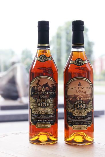 Calumet Farm Single Rack Black Kentucky Straight Bourbon Whiskey Series