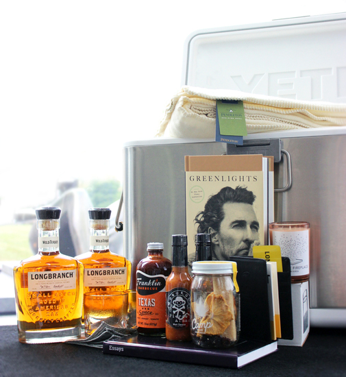 Longbranch VIP Mailer Curated by Matthew McConaughey