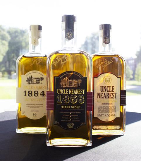 Uncle Nearest Premium Whiskey Trilogy Set & Nearest Green Distillery Experience