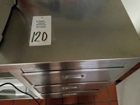 Stainless Steel Corner Counter