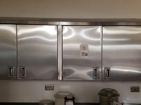 12 door upper cabinet