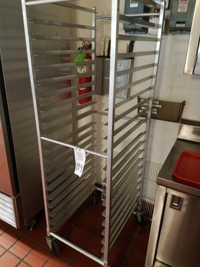 Pan/Tray Rack on Wheels