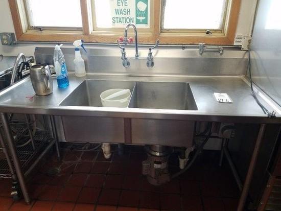 Dual Sink Wash Station
