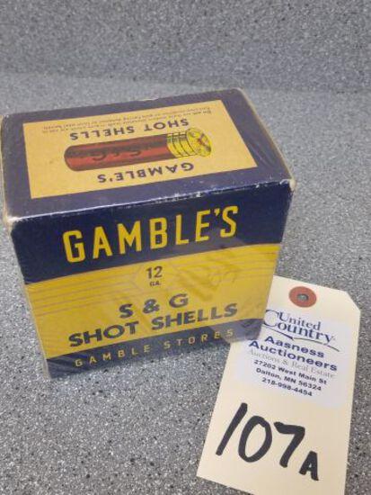 Gambles 12 Ga. S & G