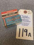 Wards .22 Short Long Range & Sears Sta-Klean .22 Long