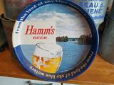 """Hamm's """"Land of Sky Blue Water"""" Beer Tray"""