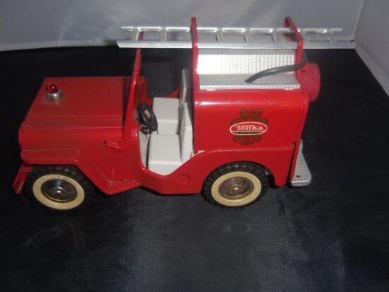 "Tonka Jeep ""First Responder"" fire truck"