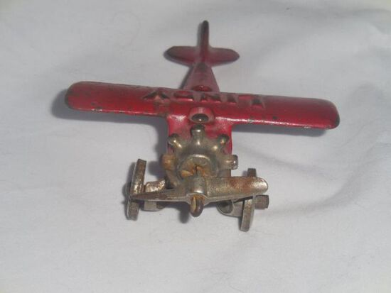 """Lindy"" Cast Iron Airplane"