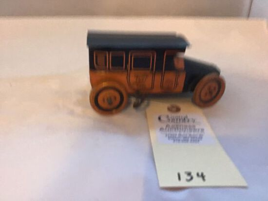 Vintage Tin Wind Up Chein Taxi