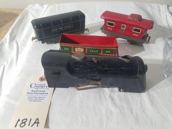 Marx Tin Wind Up Train
