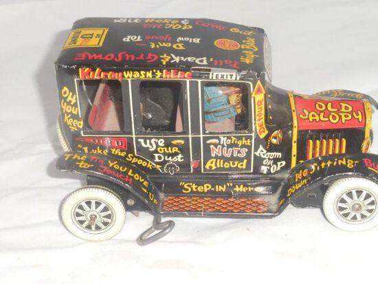 "Marx Tin Wind Up ""Old Jalopy"" Car"