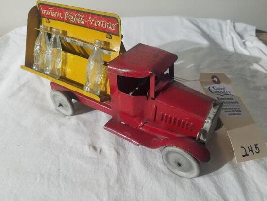 Metal Craft Vintage Coca-Cola Truck