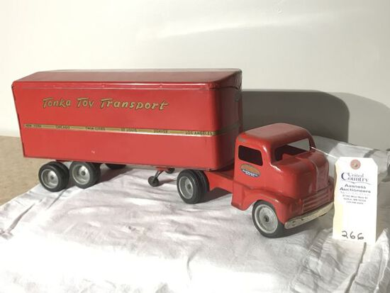 Tonka Toy Transport Truck